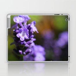 Lavender purple flower plant Laptop & iPad Skin