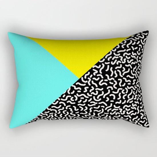 Memphis pattern 27 Rectangular Pillow
