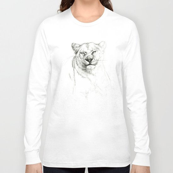 Lioness emotions SK046 Long Sleeve T-shirt