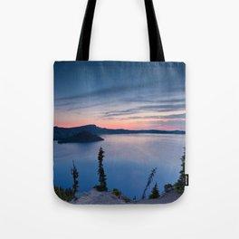 Sunrise At Crater Lake Tote Bag