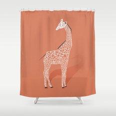 Animal Kingdom: Giraffe I Shower Curtain