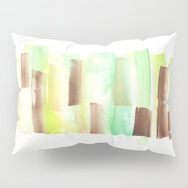 [161228] 9. Abstract Watercolour Color Study |Watercolor Brush Stroke Pillow Sham