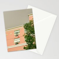 Pink Apartment House Stationery Cards