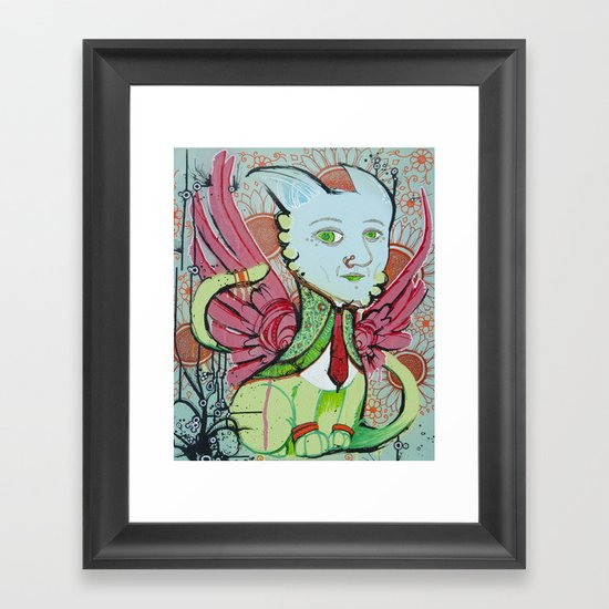 Sphinx Framed Art Print
