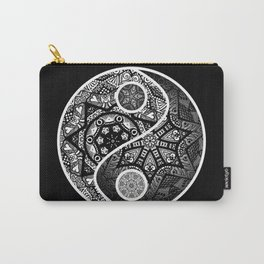 Yin Yang Zentangle Carry-All Pouch