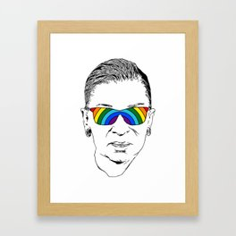 RBG Rainbow Framed Art Print