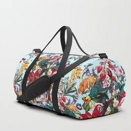 Floral and Birds XXXIV Duffle Bag