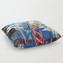 Japan - 'Your Name Street' Floor Pillow