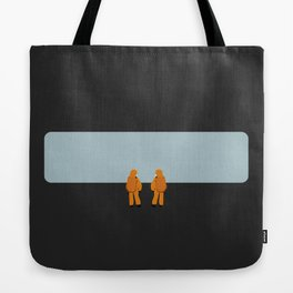 The Day They Arrived Tote Bag