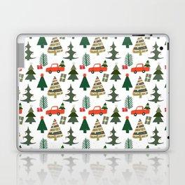 Christmas Tree / Truck / Vintage / Retro / Fir / Spruce / Winter Wonderland / Pine Tree Laptop & iPad Skin