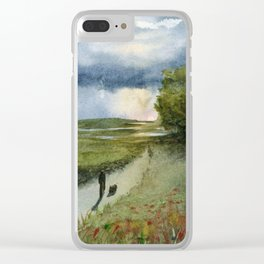 Passing Time Clear iPhone Case