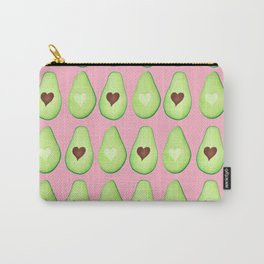 Avocado Love Pattern Carry-All Pouch