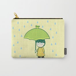 Frog Umbrella Carry-All Pouch