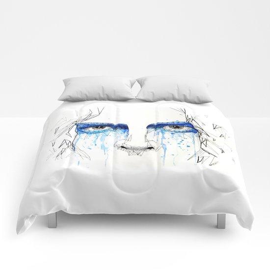 jack's blue tears Comforters