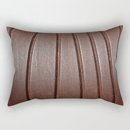 Metal Curves Rectangular Pillow