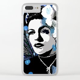 Billie Holiday  Clear iPhone Case