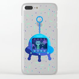 UFOtchi Clear iPhone Case