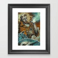 Saint Francis Revisited Framed Art Print