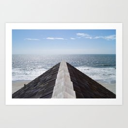 Straight Path Art Print