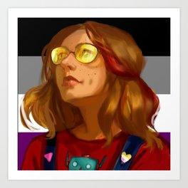 Alana Art Print