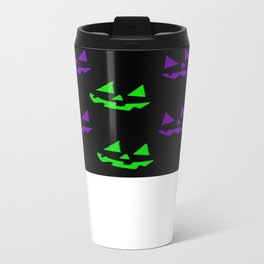 Jack o lanterns Metal Travel Mug