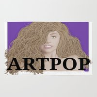 artpop Area & Throw Rugs featuring ArtPOP. by A.S.M Designs