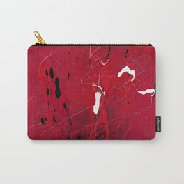 Rising - abstract painting by Rasko Carry-All Pouch