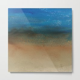 Fantasy of Water and Sand Metal Print