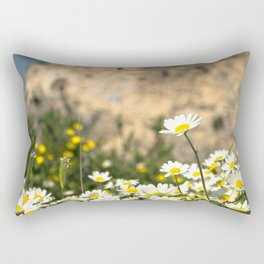 Spring Camomile Rectangular Pillow