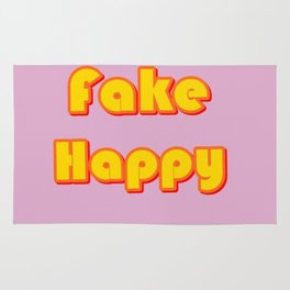 Fake Happy Rug