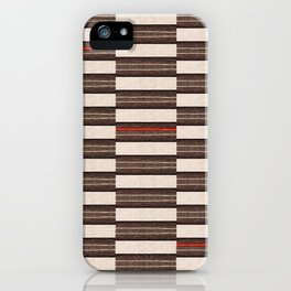 Flat Weavin 2 iPhone Case
