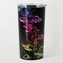 Colorful Bubbles Travel Mug