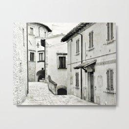 Italian street view 03 Metal Print