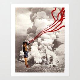 explosive views Art Print