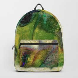 Abstract fall colors Backpack