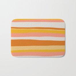 sedona, desert stripes Bath Mat
