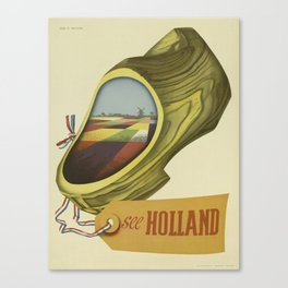 Vintage poster - Holland Canvas Print