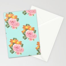 Summer Floral Print II Stationery Cards