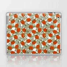 Bottlebrush Flower - White Laptop & iPad Skin