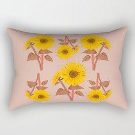 Sunflower Pattern NO.2 Rectangular Pillow