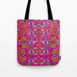 lianas of excotic in florals decorative tropical paradise style Tote Bag