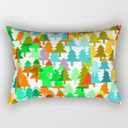 Colorful fir pattern Rectangular Pillow