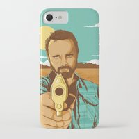 jesse pinkman iPhone & iPod Cases featuring BREAKING BAD | JESSE PINKMAN by Daniel Mackey
