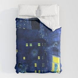 music of the night Duvet Cover