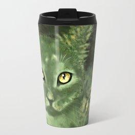 Fern Cat- El gato helecho Travel Mug