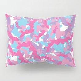 Unicorn's Breakfast [Camo Pattern] Pillow Sham