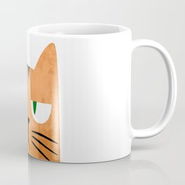 Orange cat with attitude Coffee Mug