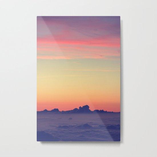 nature's pastels Metal Print