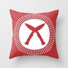 Khukuri Throw Pillow