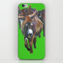 Pitou Donkeys iPhone Skin